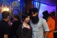 Akiko Tokuoka, Chavis Aaron